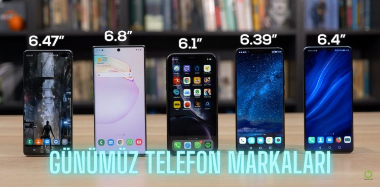Günümüz Telefon Markaları