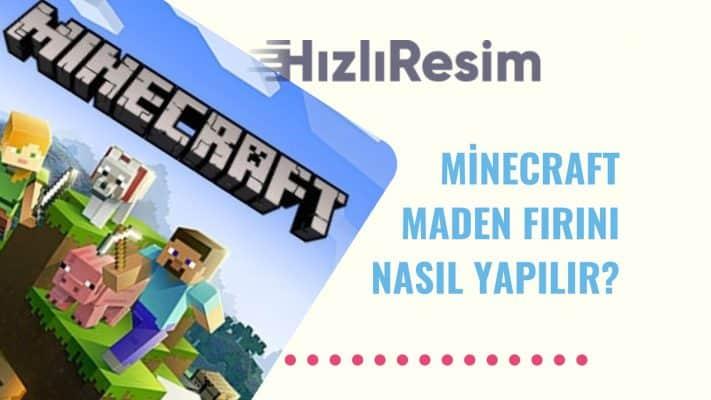 Minecraft Maden Fırını Nasıl Yapılır